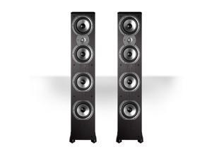 "Polk Audio TSi500 High Performance Tower Speakers with Four 6-1/2"" Drivers - Pair (Black)"