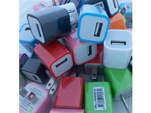 USB Wall Charger Bin Multi Clr
