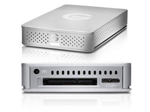 G-Technology G-DRIVE ev 220 2TB USB 3.0 / SATA Desktop External Hard Drive 0G03187 Silver