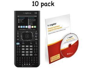 TI NspireCX CASTeacher Pack