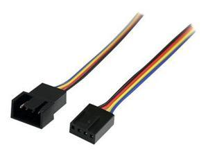 StarTech.com 4 Pin Fan Power Extension Cable - fan power extensio ...