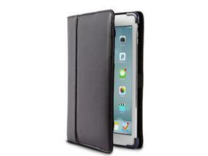 iPad Air 2 Blk Leather Cover