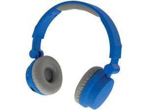 ILIVE iAHBT45BU Wireless-Touch Headphones with Microphone (Blue)