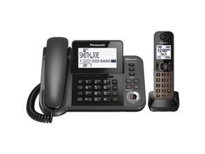 PANASONIC KX-TGF380M DECT 6.0 1.9 GHz Link-to-Cell 1-Line Corded/Cordless with TAD (1 Cordless Handset)