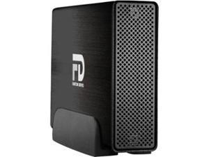 Fantom Drives 4TB Gforce3 USB 3.0 / eSATA Aluminum External Hard Drive - eSATA, USB 3.0 - Brushed Bl