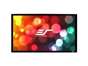 "Elite Screens SableFrame ER120WH2 Fixed Frame Projection Screen - 120"" - 16:9 - Wall Mount - 59&"