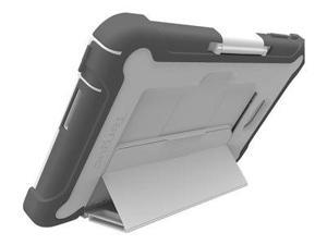 Targus SafePORT Rugged Healthcare - Back cover for tablet - rugged - polycarbonate, polyethylene - gray - for Dell Venue 8 Pro