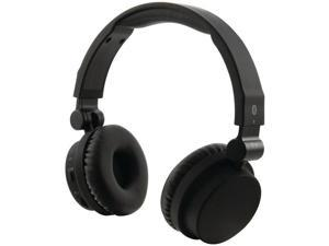ILIVE IAHB45B Bluetooth(R) Headphones with Microphone (Matte Black)