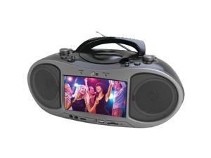 NAXA NDL-256 7 Bluetooth(R) DVD Boom Box