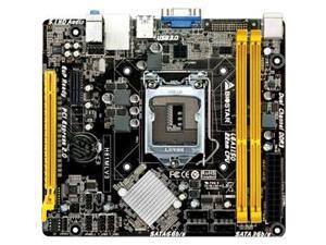 Biostar Motherboard H81MLV3 Core i7/i5/i3 H81 LGA1150 16GB DDR3 SATA PCI Express USB microATX Retail