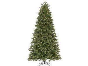 "Vickerman 32525 - 4.5' x 34"" Del Mar Frasier Fir 200 Clear DuraLit Miniature Lights Christmas Tree (A143846)"