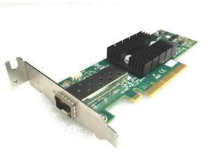 HP 10GbE Mellanox ConnectX-2 PCIe 2.0 x8 Low Profile Network Interface Card, 671798-001 666172-001 MNPA19-XTR with Cisco 3 Meter 10Gb Copper Twinax Cable SFP-H10GB-CU3M 37-0961-03