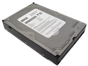 "WL 80GB 2MB Cache 7200RPM SATA2 3.5"" Internal Desktop Hard Drive (For PC/Mac, DELL, Compaq, HP, ASUS, IBM, eMachine, Gateway) - 1 Year Warranty"