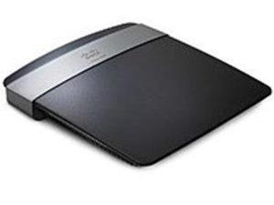 Linksys E2500 Dual-Band 4-Ports Wireless-N Router - IEEE 802.11n - 37.50 MBps - Fast Ethernet, RJ-45
