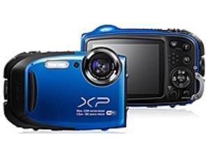 Fujifilm FinePix XP Series 074101023916 XP75 16.4 Megapixels Digital Camera - 5x Optical/2x Digital Zoom - 2.7-inch LCD Display - Blue