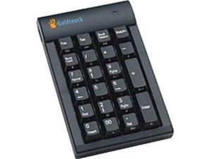 Goldtouch GTC-0077 USB Numeric Keypad Hub - 23 Keys - Black