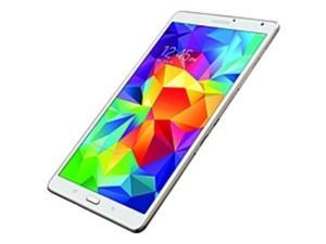 "Samsung Galaxy Tab S SM-T700 16 GB Tablet - 8.4"" - Wireless LAN - Samsung Exynos Quad-core (4 Core) 1.90 GHz - Dazzling White - 3 GB RAM - Android 4.4 KitKat - Slate - 2560 x 1600 16:10 Display - ..."
