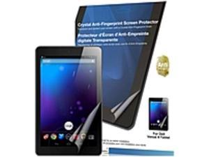 """Green Onions Supply Crystal Anti-Fingerprint Screen Protector for Dell Venue 8 Android Tablet - 8""""Tablet PC"""