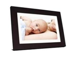 "Viewsonic VFD1028W-31 Digital Photo Frame - 10.1"" LED Digital Frame - Espresso - 1024 x 600 - Cable - Calendar, Clock, Slideshow - Built-in 128 MB - USB - Desktop"