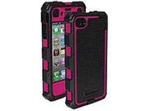 Ballistic HA0778-M365 Case with Holster for Apple iPhone 4 (CDMA), iPhone 4 (GSM), iPhone 4S - Black, Pink