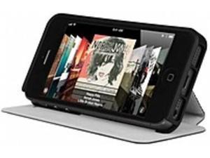 Incipio LGND Carrying Case (Folio) for iPhone - Obsidian Black - Plextonium