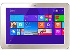 Toshiba Encore 2 PDW0BU-00L01W WT10-A32 Tablet PC - Intel Atom Z3735G 1.33 GHz Quad-Core Processor - 1 GB RAM - 32 GB Storage - 10.1-inch Touchscreen Display - Windows 8.1