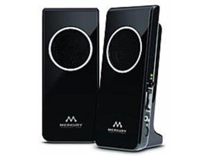 Merkury Innovations M-SPW510 Amplified Stereo Speaker - Black