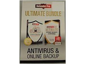 Defender 873172082170 Security Pro Ultimate Antivirus and Online Backup