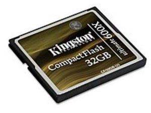 Kingston CF/32GB-U3 32 GB Ultimate Flash Memory Card - 600x