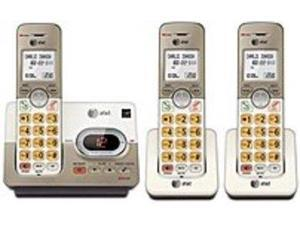 AT&T EL52333 DECT 6.0 Cordless Phone - 3 Handset Answering System - White, Grey