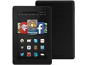 Amazon Fire HD KNDFRHD16W7IN Tablet PC - 1.5 GHz Quad-Core Processor - 1 GB RAM - 16 GB Storage Capacity - 7.0-inch Display - Fire - Black