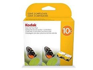Kodak 1829993 10C Color Inkjet Cartridge for All-in-One Printers - 420 Page - Twin Pack