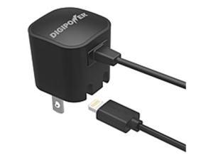 DigiPower Wall Charger With Lightning Cable IP-AC1L-T - 5 W Output Power - 1 A Output Current