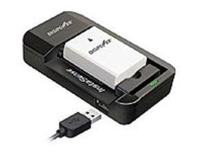 DigiPower TC-5000U Universal Smart Battery Charger - For Smart Phones/Tablets/Cameras/e-Readers - 120 V AC, 230 V AC Input - Yes