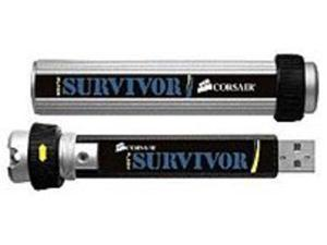Corsair Survivor Flash CMFUSBSRVR-64GB USB Flash Thumb Drive - 64 GB - USB 2.0 - Water Resistant, Shock Proof
