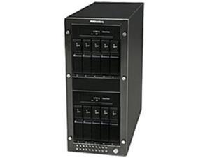 Addonics SN1035E1G NAS Array - 10 x HDD Supported - Serial ATA Controller - 10 x Total Bays - Gigabit Ethernet - Network (RJ-45) - eSATA - 0, 1, 5, 5+Spare, Clone Mode (N-Way Mirror), ...