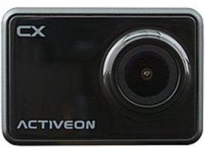 Activeon CX CCA10W 5.0 Megapixels Action Camera - 4x Digital Zoom - 2-inch LCD Display - F/2.4 Lens - Black