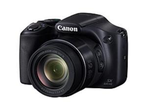 "Canon PowerShot SX530 HS 16 Megapixel Compact Camera - Black - 3"" LCD - 16:9 - 50x Optical Zoom - 4x - Optical (IS) - TTL - 4608 x 3456 Image - 1920 x 1080 Video - HDMI - PictBridge - HD Movie ..."