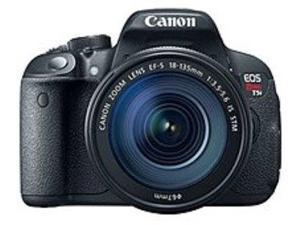 Canon EOS Rebel 8595B005 T5i 18.0 Megapixels Digital Camera with EF-S 18-135 mm, f/3.5-5.6 IS STM Lens - 7.5x Optical Zoom - 3.0-inch LCD Display - Hi-Speed USB - Black