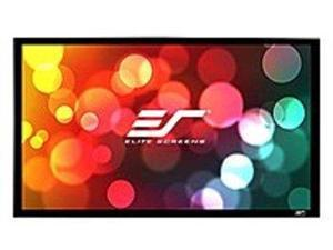"""Elite Screens ER103H1-Wide Sable235 Wall Mount Fixed Frame Projection Screen (103"""" 2.35:1 Aspect Ratio) (CineGrey) - 40.5"""" x 95.2"""" - CineGrey"""
