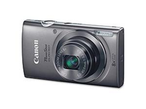 "Canon PowerShot ELPH 160 20 Megapixel Compact Camera - Silver - 2.7"" LCD - 16:9 - 8x Optical Zoom - 4x - Digital (IS) - TTL - 5152 x 3864 Image - 1280 x 720 Video - PictBridge - HD Movie Mode"