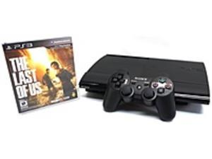 Sony 3000239 500GB PlayStation 3 with The Last of Us Bundle - Blu-ray - Wireless DualShock 3 - Charcoal Black