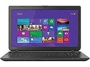 Toshiba Satellite PSCMLU-02X00Y C55-B5270D Laptop PC - Intel Pentium N3530 2.16 GHz Quad-Core Processor - 8 GB DDR3L SDRAM - 500 GB Hard Drive - 15.6-inch Display - Windows 8.1 - Jet Black