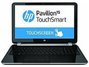 HP Pavilion TouchSmart E8A65UA 15-n020us Notebook PC - AMD A6-5200 2.0 GHz Quad-Core Processor - 4 GB DDR3L SDRAM - 750 GB Hard Drive - 15.6-inch Touchscreen Display - Windows 8 64-bit - Silver