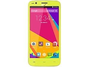 BLU Star 4.5 S450A Smartphone - 4 GB Built-in Memory - Wireless LAN - 3.9G - Bar - Yellow - SIM-free - SMS (Short Message Service), MMS (Multi-media Messaging Service), Email, Instant Messaging - ...