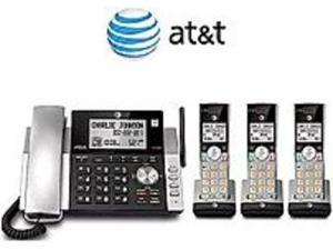 AT&T CL84365 504493 DECT 6.0 Phone System With Caller ID 3 Handsets