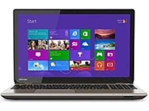 Toshiba Satellite PSPNVU-03004P P55T-B5340 Notebook PC - Intel i7-4710HQ 2.5 GHz Quad-Core Processor - 16 GB DDR3L RAM - 1 TB Hard Drive - 15.6-inch Touchscreen Display - Windows 8.1 - Brushed ...