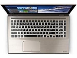 Toshiba Satellite Fusion PSLRAU-00J008 L55W-C5278 Laptop PC - Intel i3-5015U 2.1 GHz Dual-Core Processor - 8 GB DDR3L RAM - 750 GB Hard Drive - 15.6-inch Touchscreen Display - Windows 10 - Satin ...