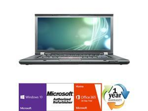 "Lenovo Thinkpad W510 Intel i7 Quad Core 1700 MHz 160Gig Serial ATA 4096mb DVD ROM 15.0"" WideScreen LCD Windows 10 Professional 64 Bit Laptop Notebook"