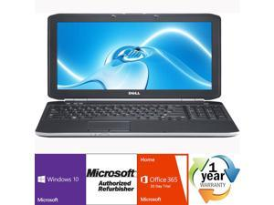 "Dell Latitude E6520 Intel i7 Dual Core 2700 MHz 500Gig Serial ATA 8192mb DVD-RW 15.0"" WideScreen LCD Windows 10 Professional 64 Bit Laptop Notebook"
